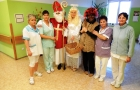 Mikuláš navštívil naši nemocnici