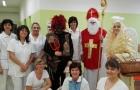 Mikuláš se svými společníky ani letos nezapomněl navštívit naši nemocnici