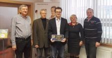 Rotary klub Uherský Brod předal šek nemocnici