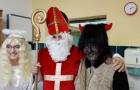 Sv. Mikuláš s jeho družinou zavítal do naší nemocnice