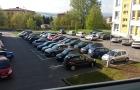 V areálu nemocnice se plánuje rozšíření parkoviště
