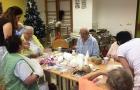 Vánoční tvoření s pacienty
