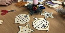 Vánoční tvoření v nemocnici