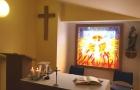 Žehnání nově vzniklé nemocniční Kaple sv. Josefa